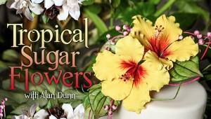 Alan Dunn Tropical Sugar Flowers Craftsy Class Discount Link | ErinBakes.com