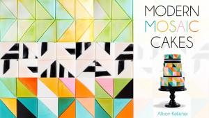Modern Mosaic Cakes Craftsy Class Discount Link | ErinBakes.com