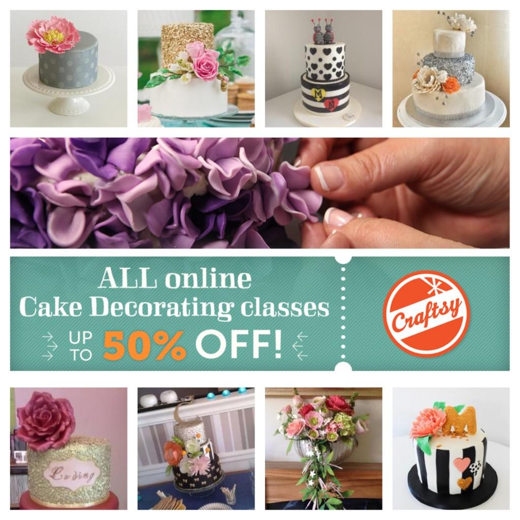 Craftsy Class Discount Sale Link   ErinBakes.com