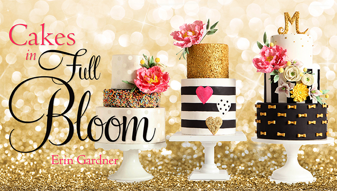 Cakes In Full Bloom Craftsy Class 50% Off Link | ErinBakes.com