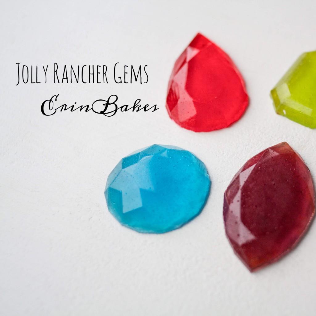 Easy Jolly Rancher Gems   Erin Bakes