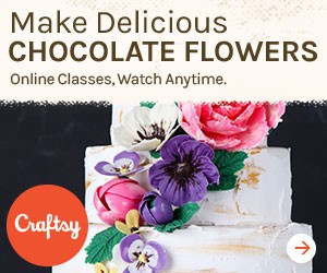 Chocolate Flowers Craftsy Class | Erin Gardner