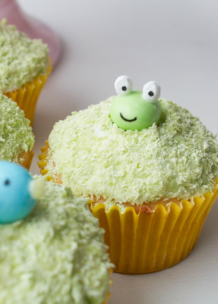 Erin Bakes for Handmade Charlotte | Easter Candy Critters | Edible Easter Grass