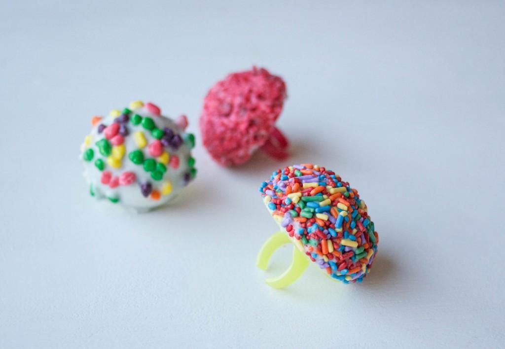 Cake Ring Pops | Erin Bakes