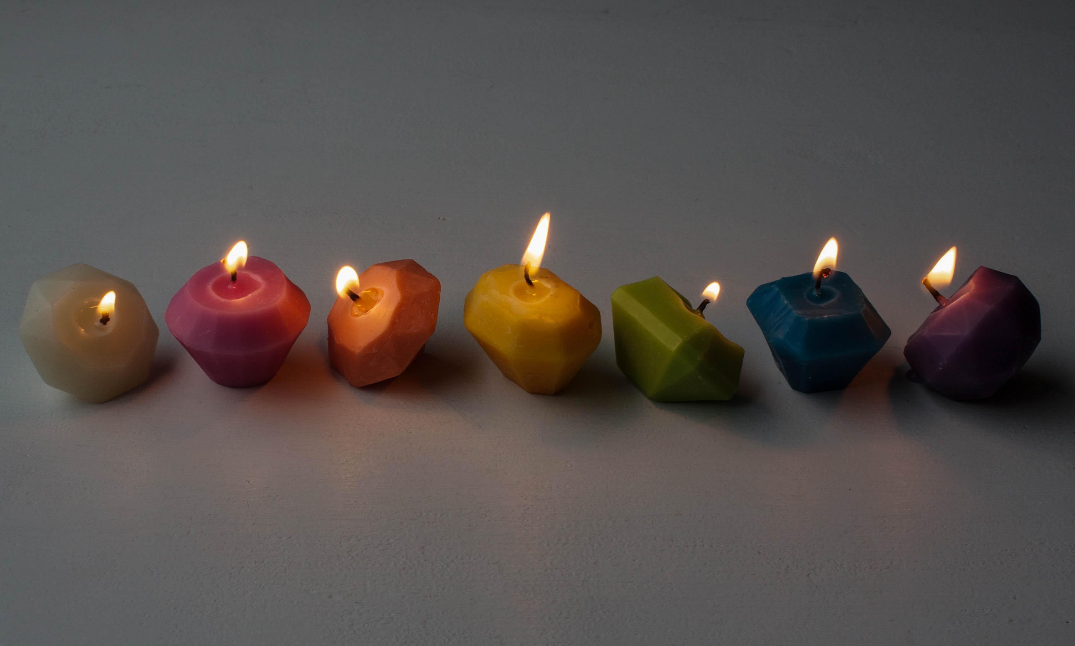 Custom Beeswax Birthday Candles | Erin Bakes