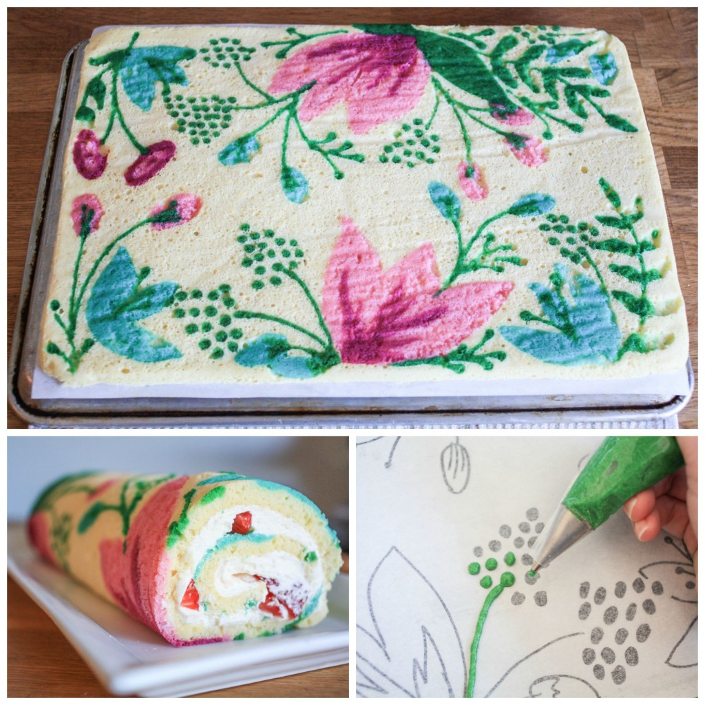 How to Make a Pretty Patterned Roll Cake | Erin Gardner | Craftsy