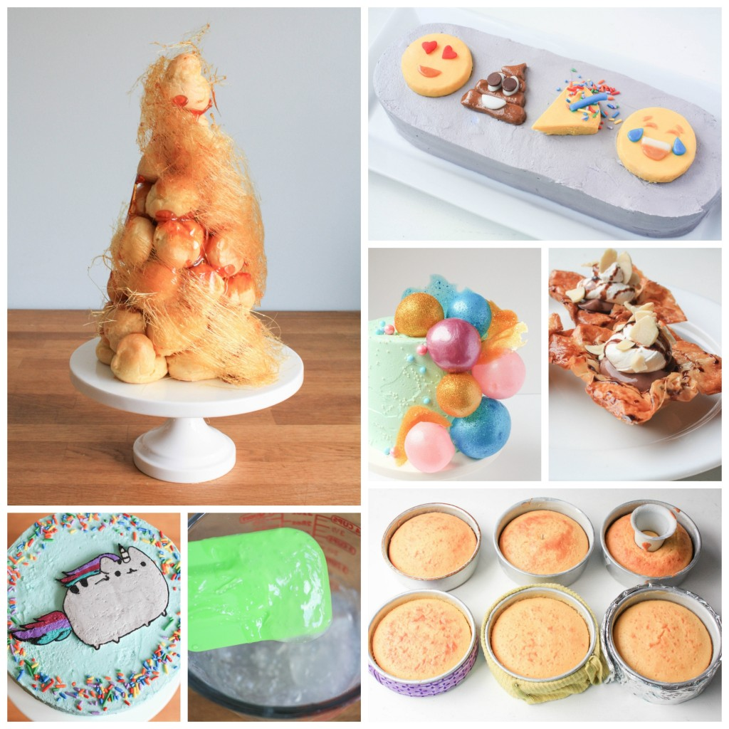 Free Cake Decorating Tutorials by Erin Gardner on Craftsy