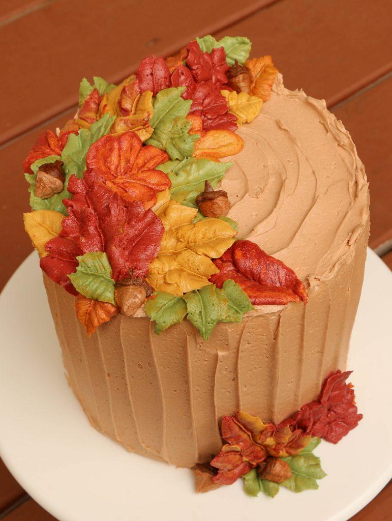 Buttercream Fall Leaves   Erin Bakes