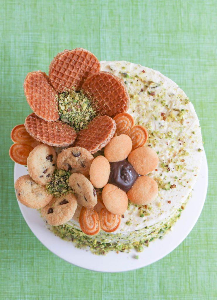 Cookie Flower Cake | Erin Gardner | Erin Bakes