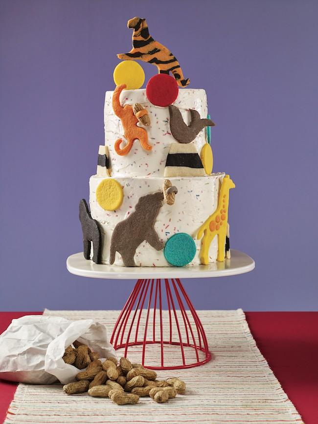Erin Bakes Cake Three Ring Circus Cake