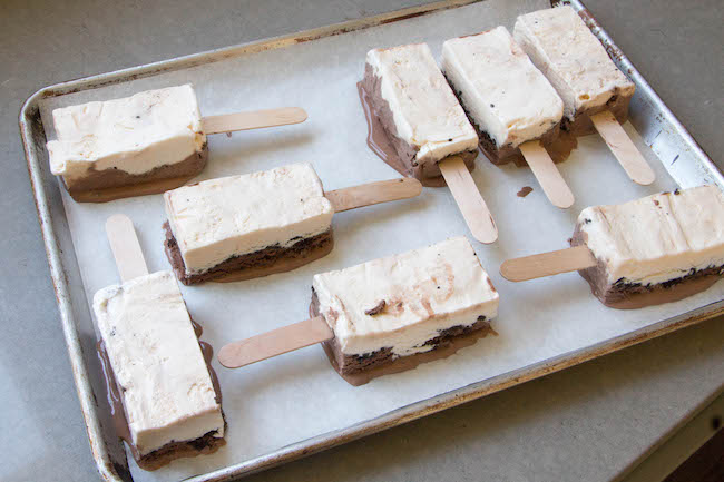 Cut Ice Cream Cake Popsicles | Erin Bakes