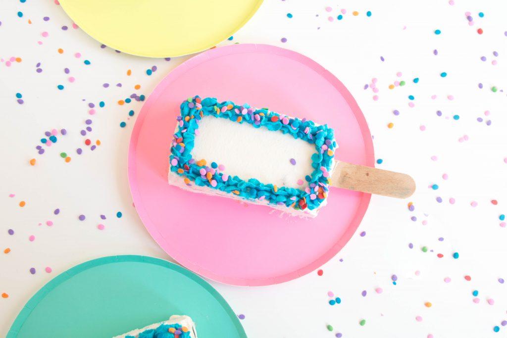 Ice Cream Cake Pops by Erin Gardner