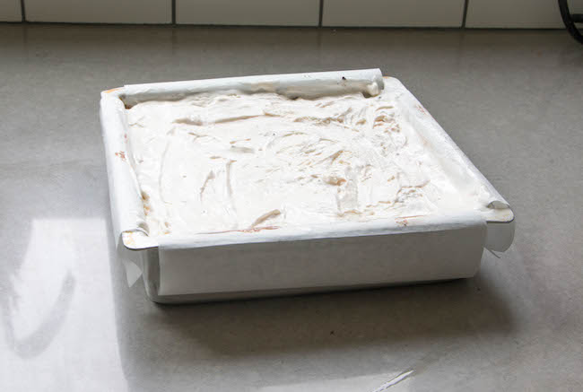 Filled Ice Cream Cake Pan | Erin Gardner