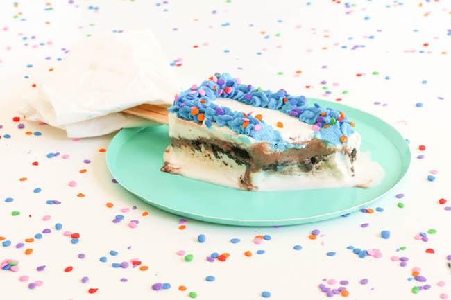 Ice Cream Cake Popsicle by Erin Gardner