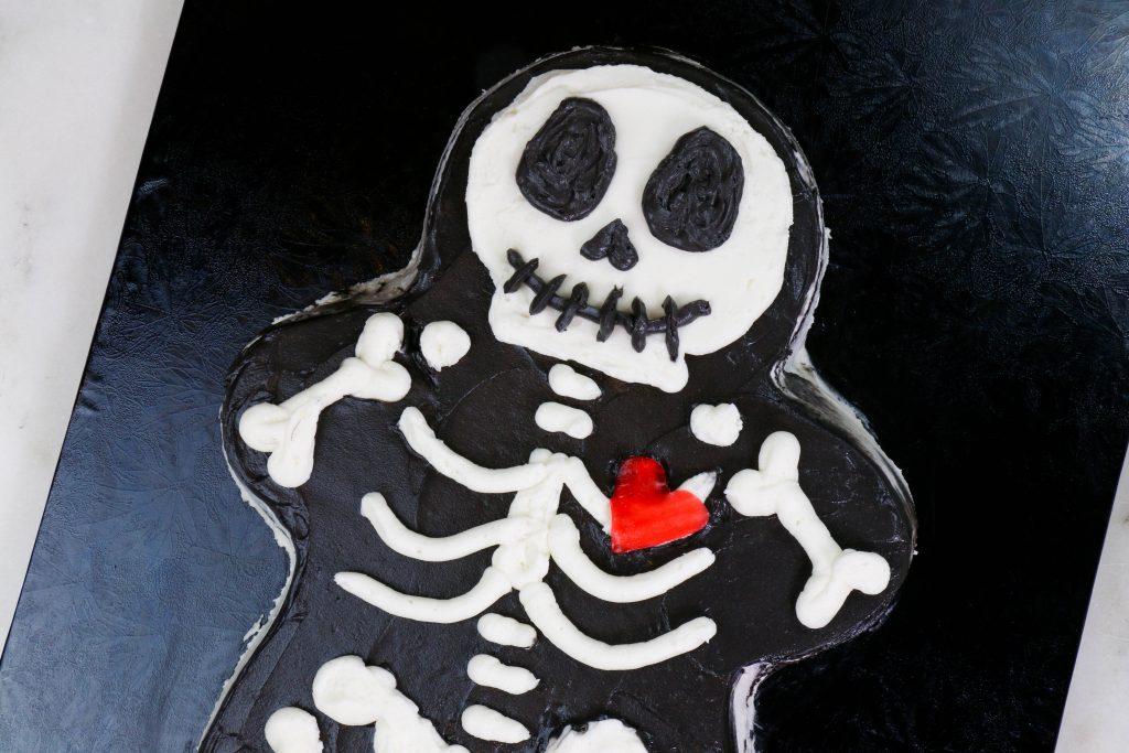 Halloween Skeleton Cake | Erin Bakes