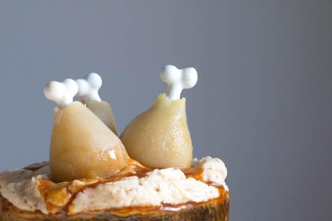 Poached Pear Turkey Legs | Erin Bakes