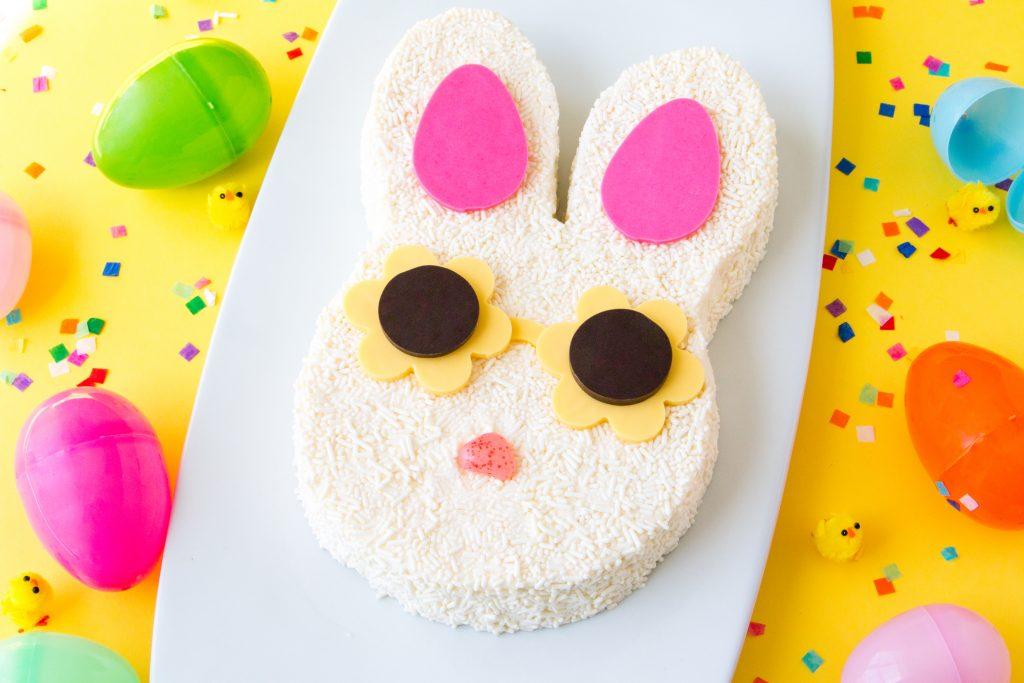 Sprinkle Bunny Sunnies Cake | Erin Gardner | Erin Bakes